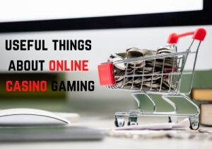 You can learn a lot of useful things about online casino gaming Bet Online